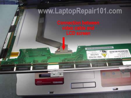 laptop ekran baglanti kablosu - Laptop Ekranı Tamamen Beyaz Oldu Sorunu Çözümü